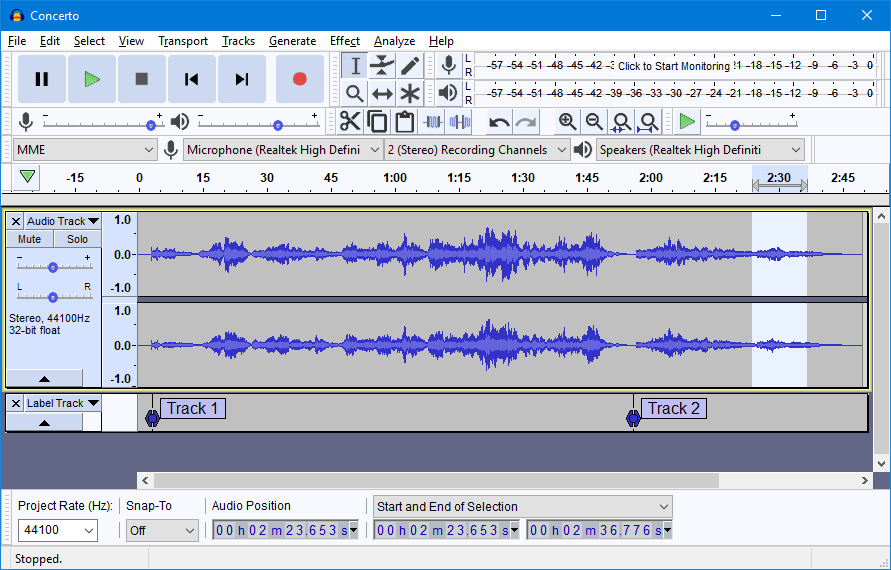 Software DAW gratis | Audacity-DAW-Download