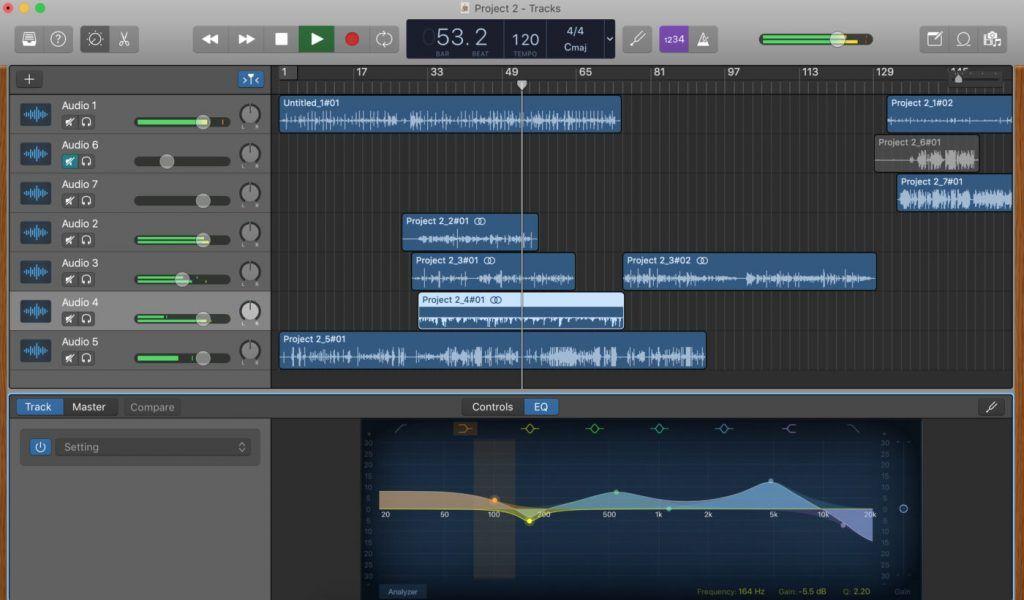Software DAW gratis Garage-Band-DAW-Descargar