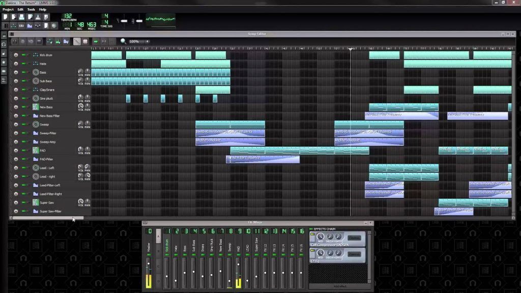 Software DAW gratis LMMS-DAW-Descargar