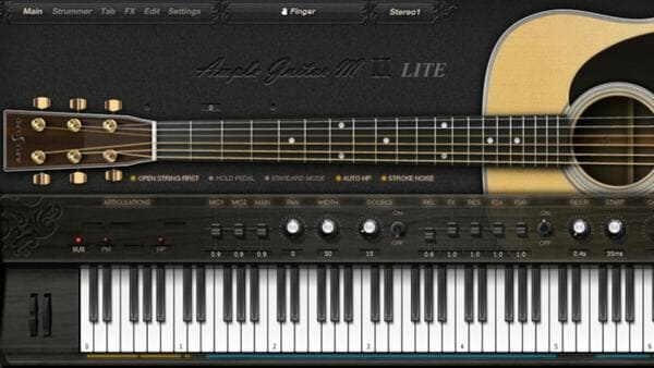 Descargar Gratis Ample Guitar M Lite II plugin Vst