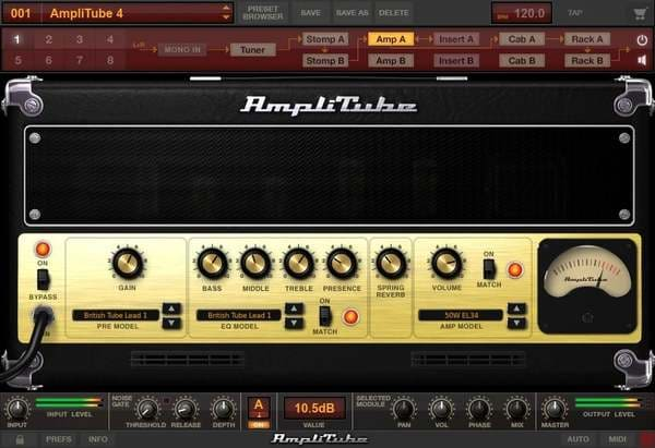 Descargar Gratis AmpliTube 4 Free by IK Multimedia