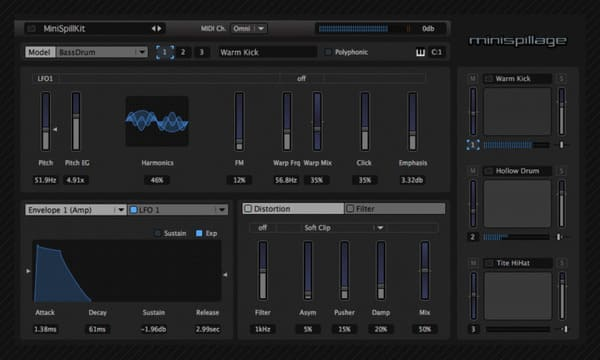 Descargar AudioSpillage MiniSpillage VST