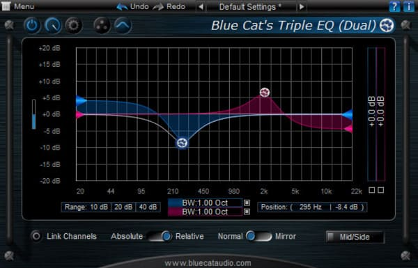 Descargar Gratis Blue Cat's Triple EQ