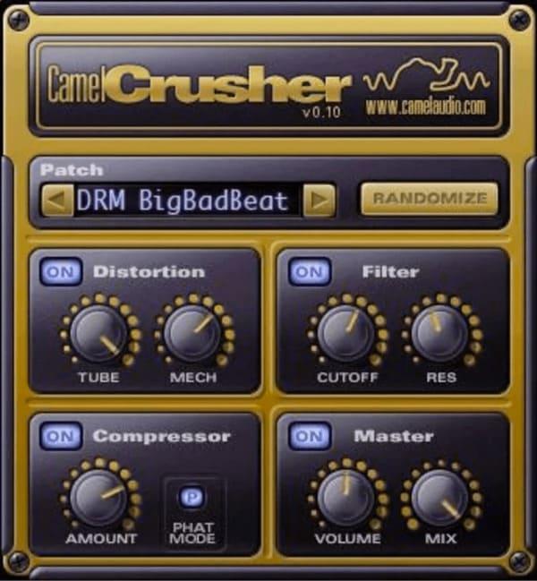 CamelCrusher mejores plugins vst gratis para fl studio