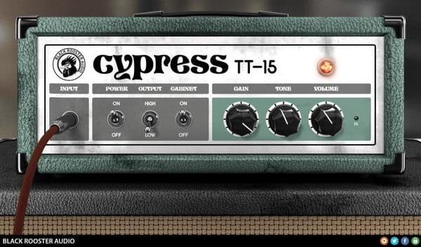Descargar Gratis Cypress TT-15 by Black Rooster Audio VST