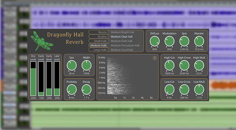 Descarga Gratis Dragonfly-Reverb