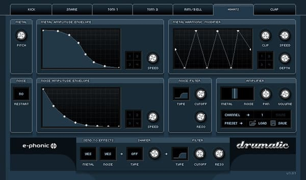 Descargar Gratis Drumatic 3 Drum Machine