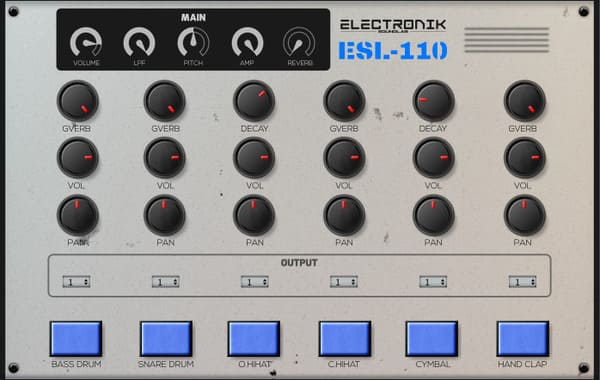 mejores plugins vst gratis para fl studio Elektronic Sound Lab SL Drums 3