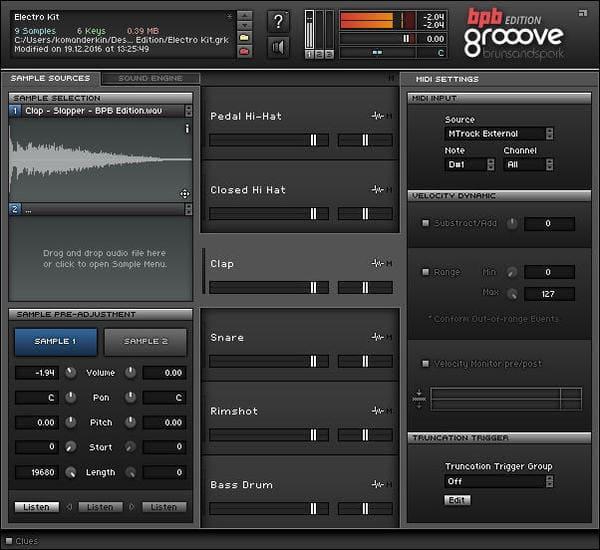 Descargar Gratis Grooove BPB Drum Machine
