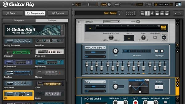 Descargar Gratis Guitar Rig 5 Player by Native Instruments Amplificadores De Guitarra VST