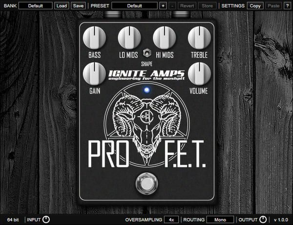 mejores plugins vst gratis para fl studio Ignite Amps ProF.E.T.