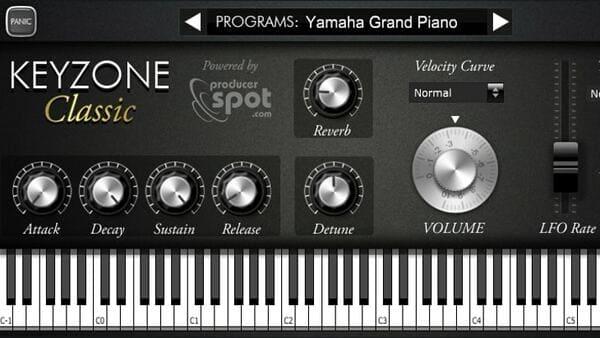 mejores plugins vst gratis para fl studio KEYZONE Classic