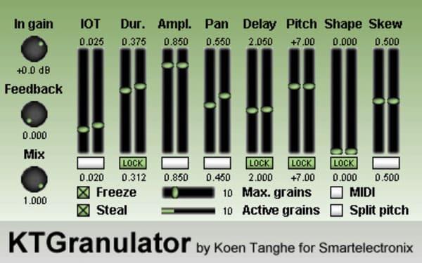 Descargar KTGranulator Granular VST gratis