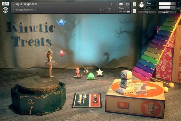 Descargar Gratis Kinetic Treats (Native Instruments) Librerías Kontakt