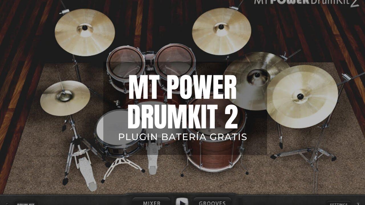 Descargar gratis MT Power Drumkit 2 VST