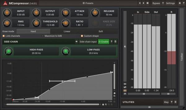 mejores plugins vst gratis para fl studio Melda MCompressor