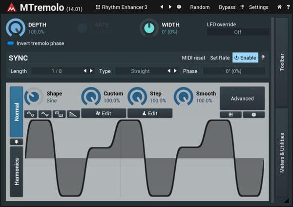 mejores plugins vst gratis para fl studio Melda MTremolo