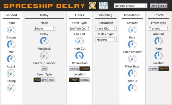 mejores plugins vst gratis para fl studio Musical Entropy Spaceship Delay