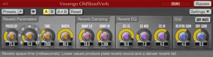 Descarga gratis OldSkoolVerb VST