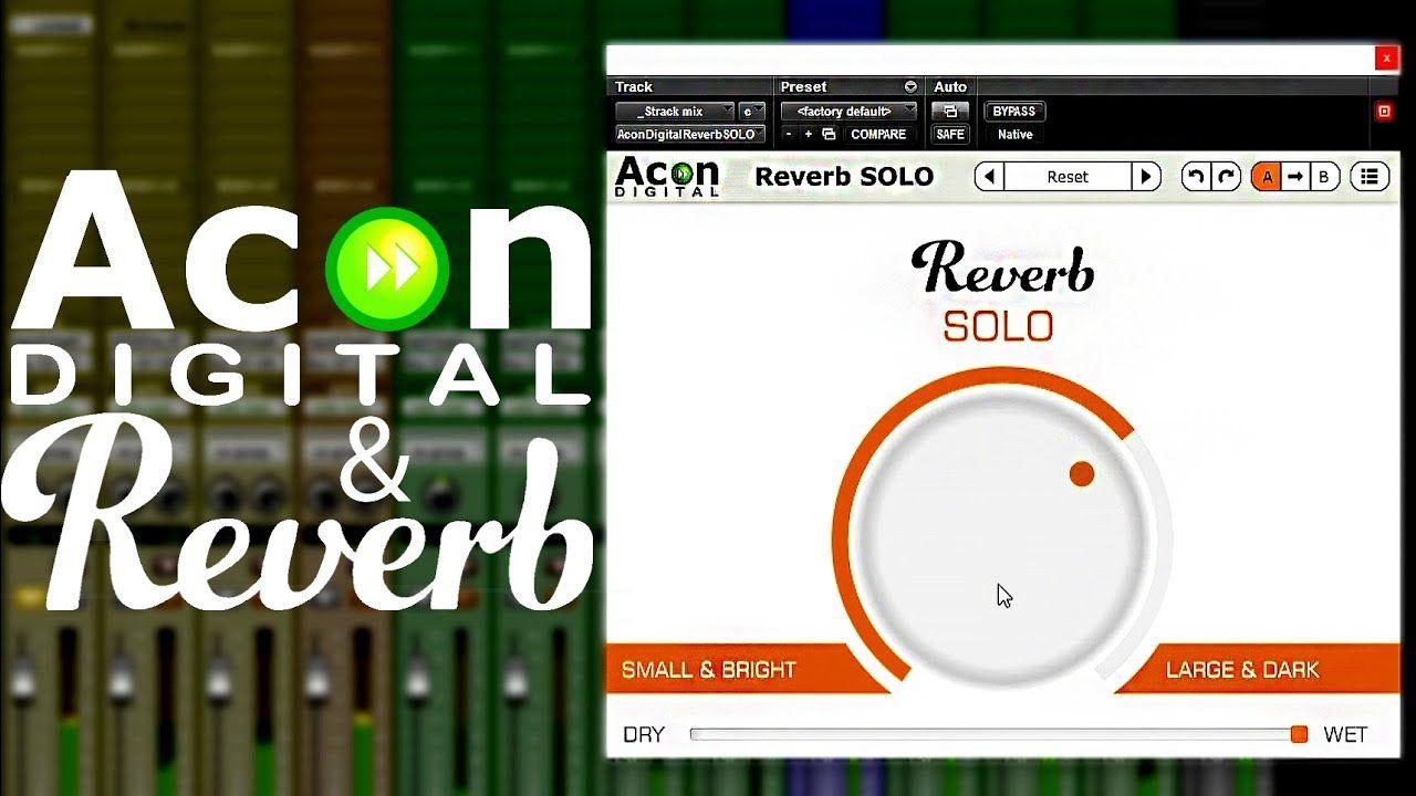 Descargar gratis Reverb SOLO by Acon Digital