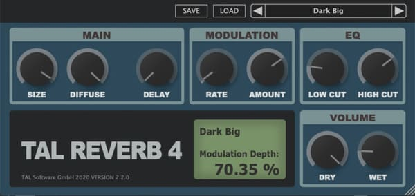 mejores plugins vst gratis para fl studio Tal Reverb 4