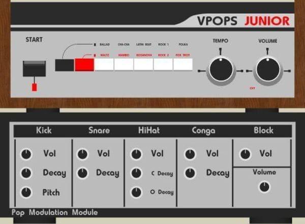 Descargar Gratis V-Pops Drum Machine