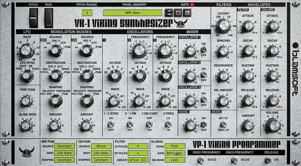 Descargar Gratis VK-1 Viking Synthesizer by Blamsoft VST Plugin