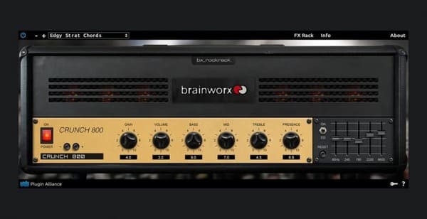 Descargar Gratis bx_rockrack V3 Player by Plugin Alliance Amplificadores De Guitarra VST