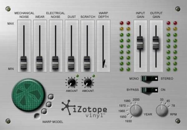 mejores plugins vst gratis para fl studio iZotope Vinyl
