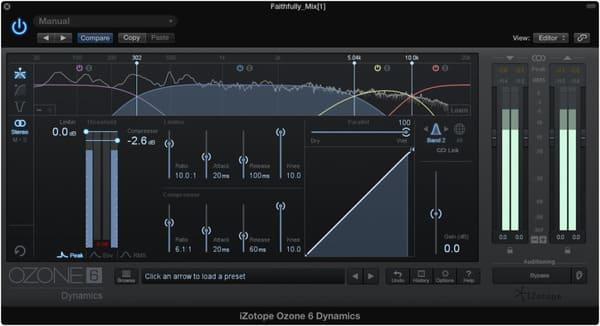 compresión en mastering de voz