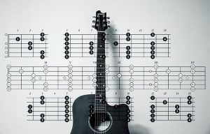 progresión de acordes guitarra y piano